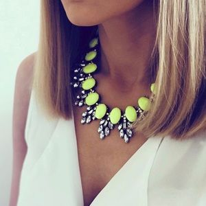 Neon and Glam Chocker Necklace